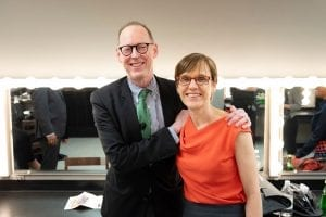 Paul Farmer with Judith Kelley